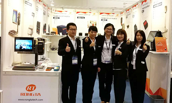 Golden Autumn October,RongTa appeared at the 38th Hong Kong Autumn Electronics Show